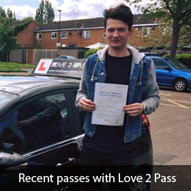 driving lessons ruislip - love 2 pass driving school