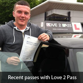 driving lessons in uxbridge - love 2 pass driving school