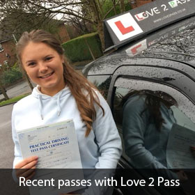 driving lessons pinner - love 2 pass driving school